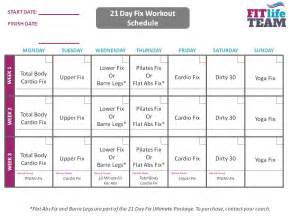 21 Day Fix Calendar 1000 Images About Dvd Fitness Schedules On