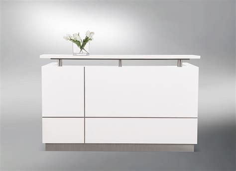 Small White Reception Desk Small White Reception Desk Receptionist Small White Reception Desk Counter Office Stock White