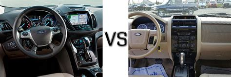 ford escape 2016 interior 2016 ford escape vs 2010 escape