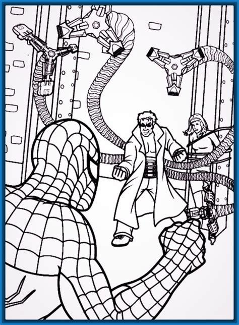 dibujos para pintar hombre araña dibujos para colorear en linea del hombre ara 241 a archivos
