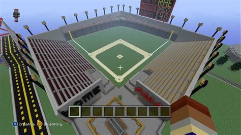 how to build a baseball field in your backyard building a city in minecraft xbox 360 edition 23 the baseball field