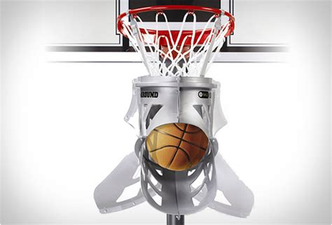 Homedesigning basketball return chute