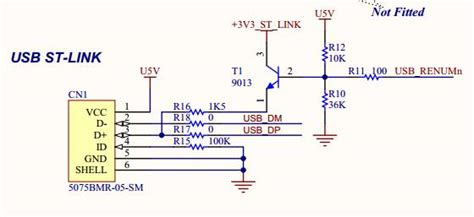 stm32f103 usb resistor microcontroller usb resistor locations electrical engineering stack exchange