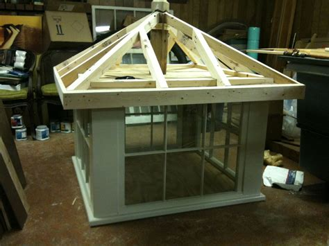 barn cupola made from recycled windows i like and i think