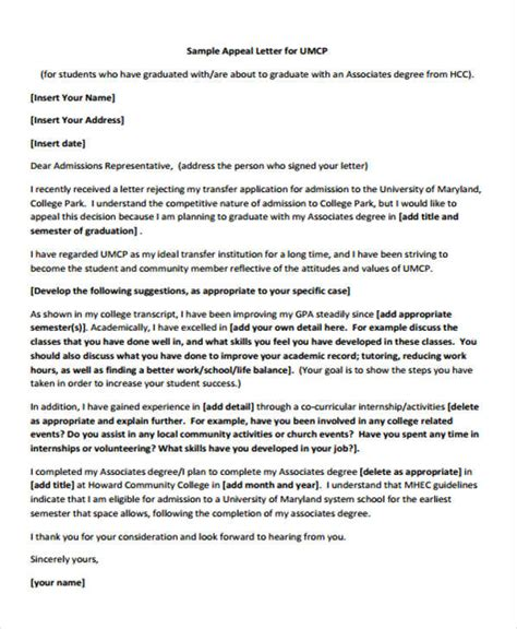 Rejection Letter College 8 College Rejection Letters Free Sle Exle Format