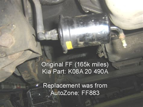 Fuel Pumppompa Bensin Kia Picanto gas filter removal kia forum