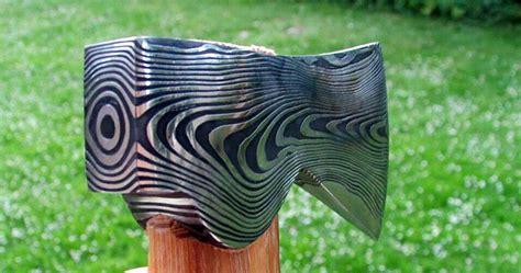 best quality hatchet swedish steel forged damascus steel hatchet