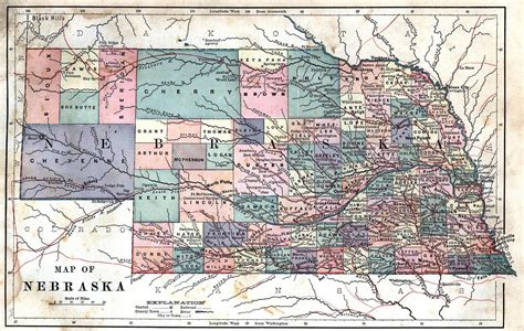 ne county the six ghost counties that disappeared from nebraska maps