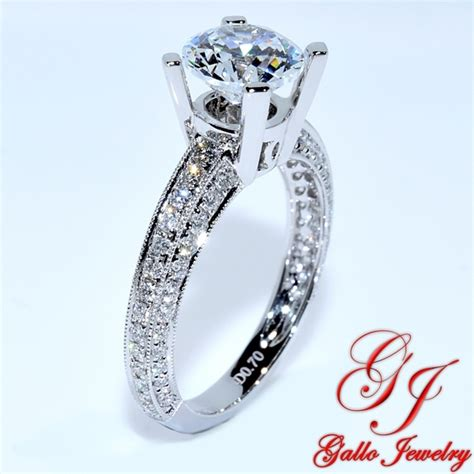 pave engagement rings eng01243 pave engagement ring
