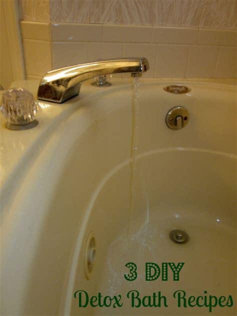 Shower After Detox Bath by 3 Diy Detox Baths Family Focus