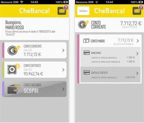 che banca telefono al via la nuova release dell app chebanca