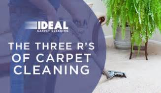 Which Has More R Value Carpet Or Carpet Pad - the three r s of carpet cleaning ideal carpet cleaning