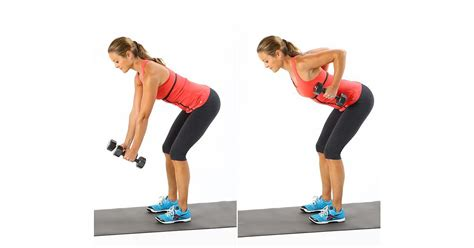 bench over row bent over row 5 easy and effective dumbbell exercises