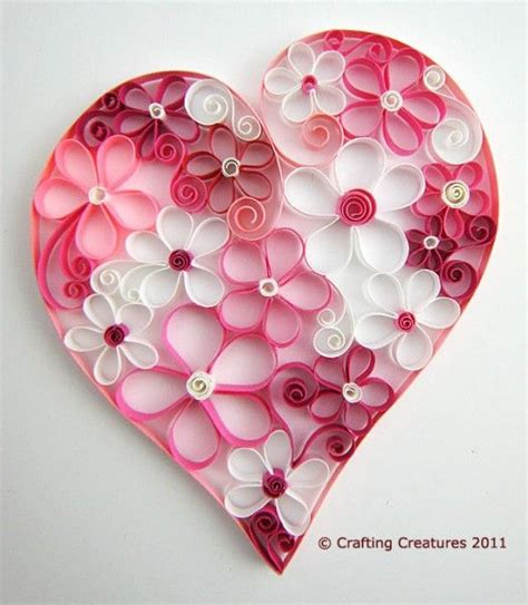 Valentines Paper Crafts - best 25 crafts ideas on