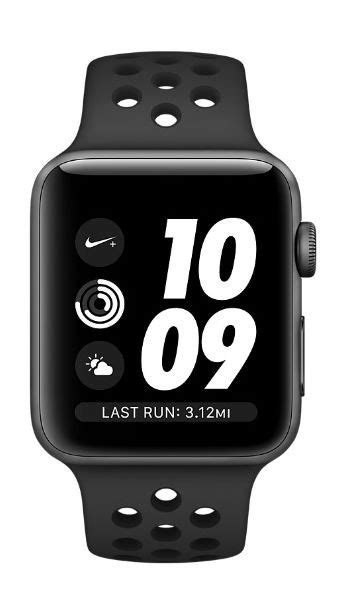 New Apple Series 3 Nike 38mm Aluminium Sport Silv Diskon apple nike series 3 new smartwatch xcite kuwait