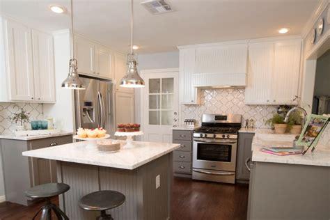 Beadboard Kitchen Cabinets   Transitional   kitchen   HGTV
