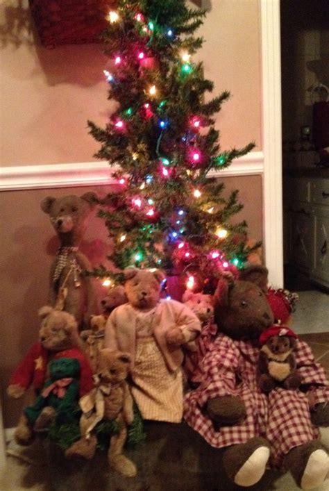 teddy bear christmas tree christmas pinterest teddy