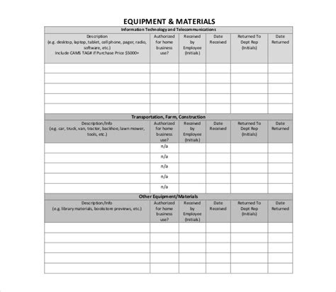 inventory spreadsheet template 5 free word excel