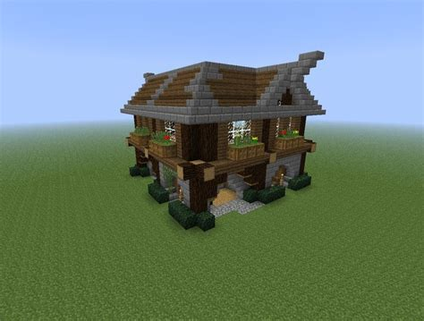 minecraft hauser zum nachbauen einfach mit minecraft haus