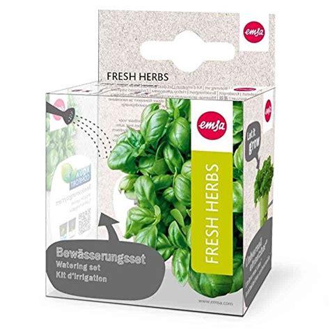 amazon com emsa germany fresh and healthy herbs for weeks dekorationsobjekte und andere wohnaccessoires von emsa