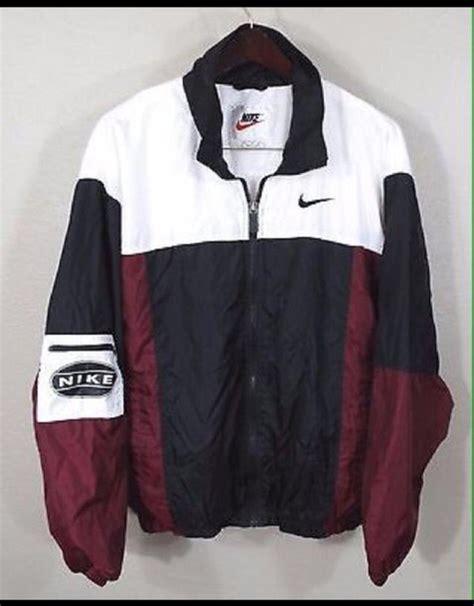 Jaket Nike Black Maroon Babeterry jacket nike school burgundy black and white