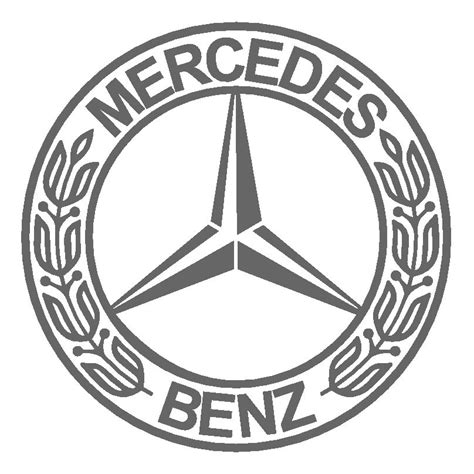 mercedes logo black and white mercedes logo meaning history of emblem mercedes benz