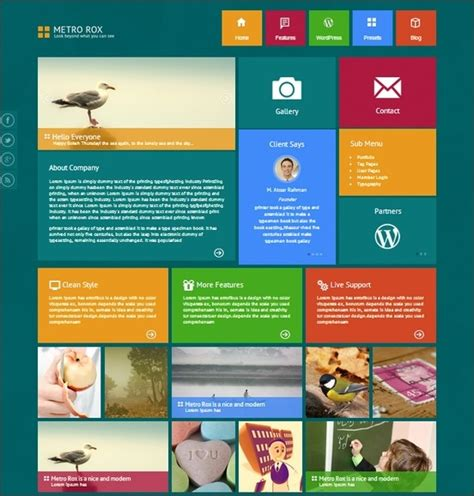 themes wordpress metro 20 best metro style minimalist wordpress themes