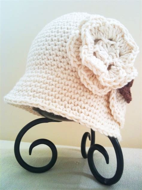 Free Crochet Cloche Hat Pattern For Children