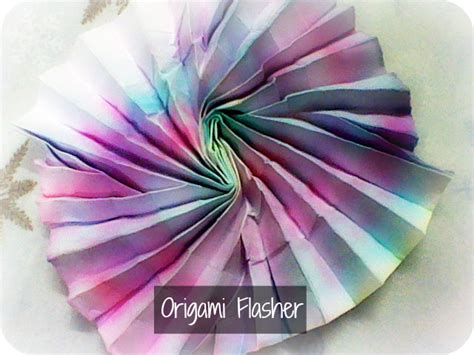 Shafer Origami Flasher - origami flasher shafer by iamboredalready on