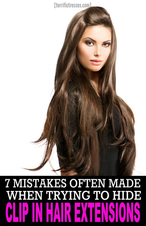 hairstyles to hide your extensions 7 mistakes made when hiding clip in hair extensions
