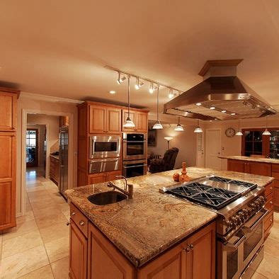 Kitchen cooktop in island design pictures remodel decor and ideas