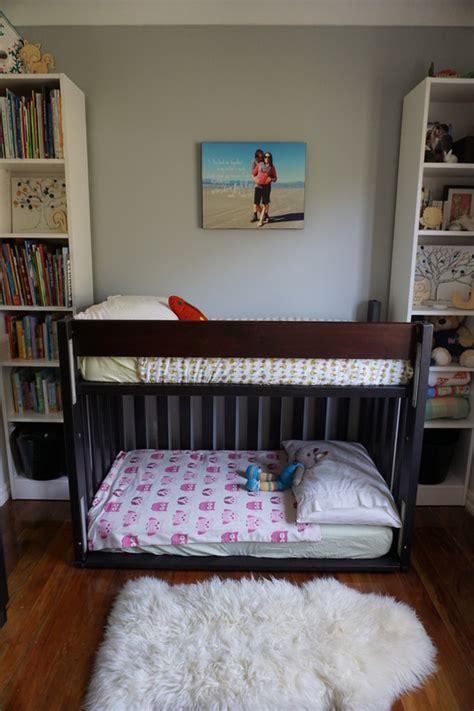 diy toddler bunk beds diy toddler bunk bed 1lesstravelledby weebly comliving