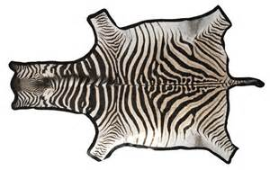Zebra skin rug traditional rugs by 1stdibs