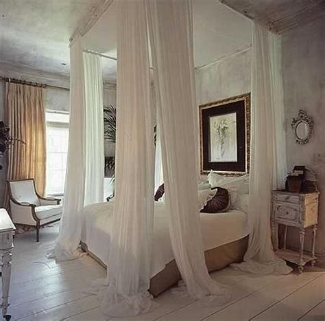 bed bedroom curtains decor drapes home image 10433