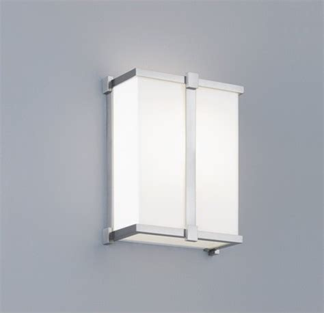 Ada Wall Sconce Hatbox Ada Square Wall Sconce Modern Wall Sconces