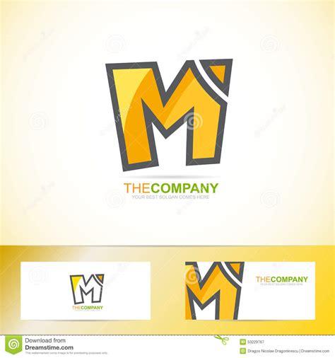 m m logo template letter m logo stock vector image 53229767