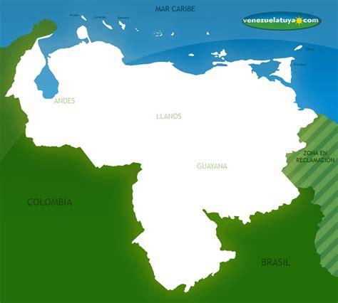 imagenes de venezuela en el mapa mapa de venezuela venezuela tuya