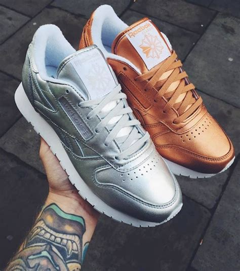 Frem Reebok stockholm x reebok classic leather sneaker gamee sko