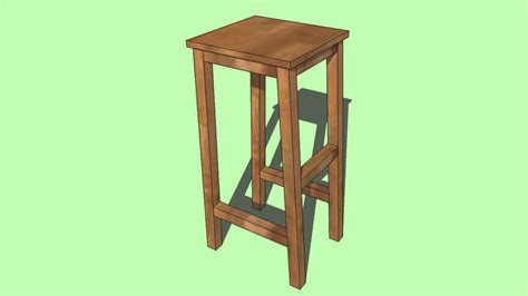 Build Bar Stools Wood by How To Build A Wooden Bar Stool