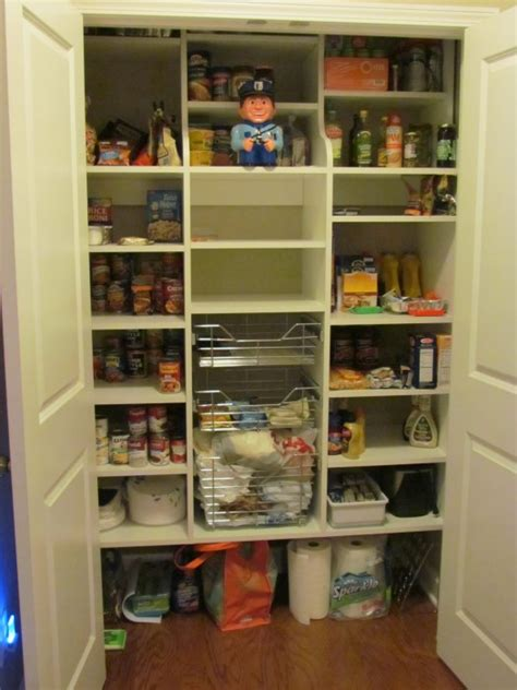 Reach In Pantry by Closet And Cabinetry Construction Options Atlanta Closet