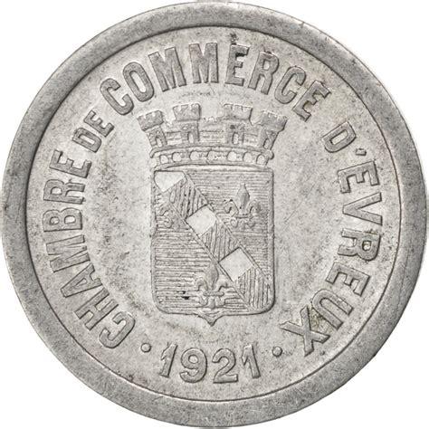 chambre du commerce evreux 85562 evreux chambre de commerce 10 centimes 1921 elie