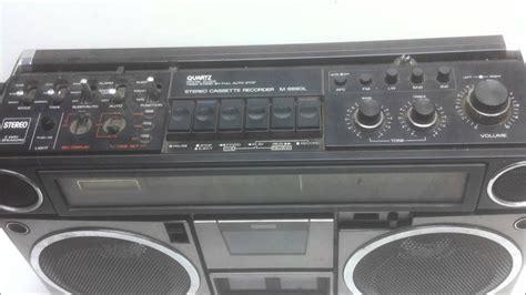 stereo a cassette sanyo stereo cassette recorder m9990l