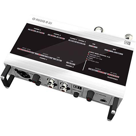 best dj audio interface instruments audio 8 dj dj audio interface 12872 b h