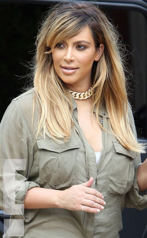keeping up with the kardashians kim blonde is full time beautytiptoday com new mommy makeover kim kardashian