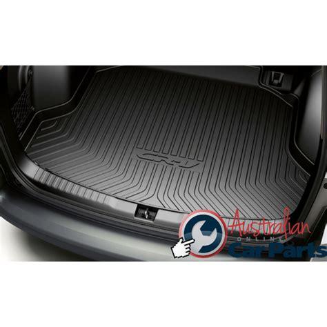 Kancing Liner Honda Crv honda crv boot cargo liner tray plastic new genuine 2013 2015 08u45t0a700