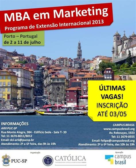 Mba In Portugal by Ex Alunos Puc Sp 187 Arquivo