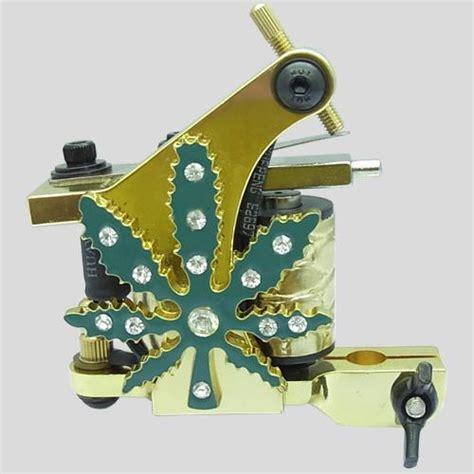 diamond tattoo machine diamond golden crystal tattoo machine random style color