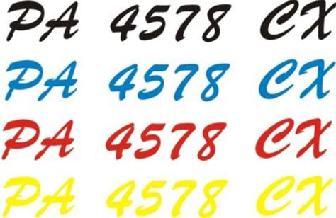 how to get boat registration numbers off stickerchic pwc jet ski boat registration numbers custom