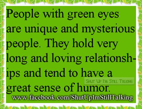 facts about green hazel eyed people personality quotes quotesgram