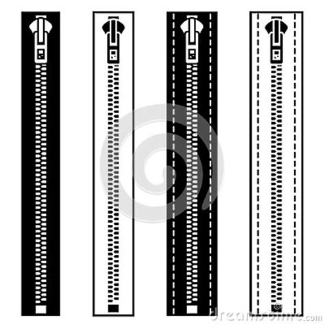zipper pattern illustrator zipper black white symbols royalty free stock photography